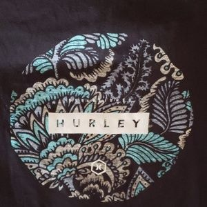 Hurley Shirts - New Men's Hurley tropical tribe tee size large